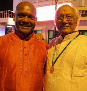 Yogeswaran with Guruji TV G.